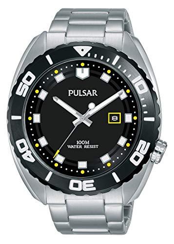 Pulsar Reloj Analógico para Hombre de Cuarzo con Correa en Acero Inoxidable PG8283X1