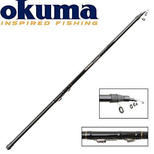 Okuma G-Force TeleReglable 485cm 10-20g - Stipprute, Teleskopierbare Stippangel Angelrute zum Stippangeln Stipprute für Friedfisch