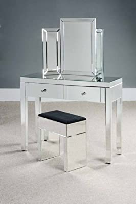 CHELSEA Mirrored Dressing Table - (Madison) FROM MY-FURNITURE