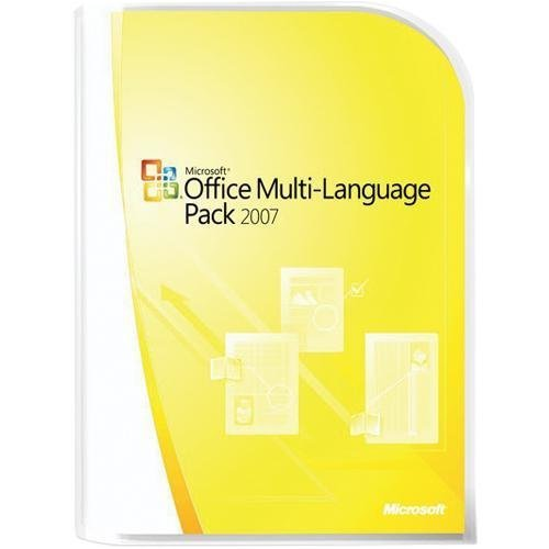 Microsoft Office Language Pack 2007 Win32 English German LngPk NA and EMEACD(PC CD) - Na Pack