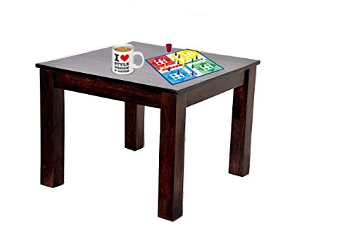Ringabell Cube Solid Wood Coffee Table (Mahogany)