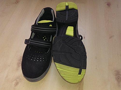 "Uvex sicurezza-sandalo "" Uvex 2,54 cm S1, SRC, larghezza 11 Nero (nero)"