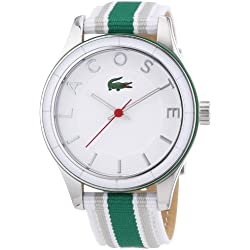 Lacoste Women's Quartz Watch Analogue Display and Textile Strap 2000769