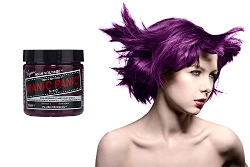 Manic Panic Classic Auswaschbare Haarfarbe 118ml (Plum (Blue Panic Dye Hair Manic)