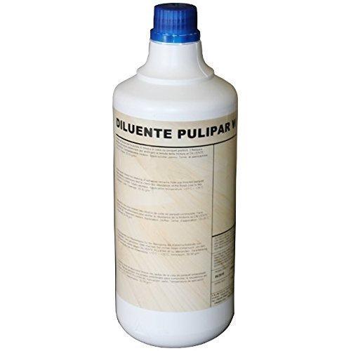 Diluente pulipar w inodore rimuove colla fresca da parquet prefinito 1lt chimiver