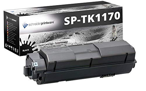 Schneider Printware Toner | 100% höhere Reichweite| kompatibel zu Kyocera TK-1170 für Kyocera ECOSYS M2040dn M2540dn M2640idw | Schwarz 14.000 Seiten -