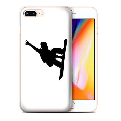 Stuff4 Hülle / Case für Apple iPhone 8 Plus / Extrem Sport Muster / Skifahren/Snowboard Kollektion Kunststück