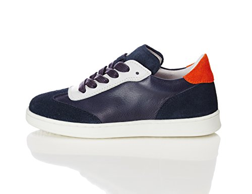 RED WAGON Jungen Sneaker mit Rau- und Glattleder Blau (Jeans)