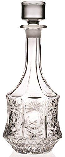 Carafe ronde à décanter en verre pour vin et whisky - Rcr Crystal