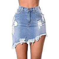Casual Denim Mini Skirt