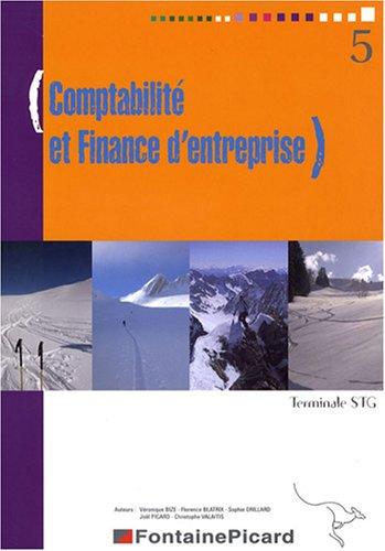 Comptabilite et finance d'entreprise Tle STG