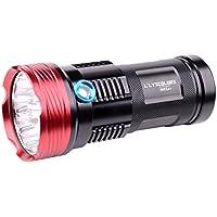 L'LYSCOLORS NKL01 Super brillante linterna LED, Max 3500LM, 4x18650 baterías (las baterías no son incluidas)