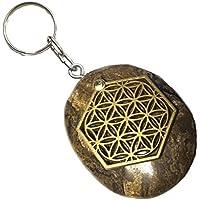 KRIO® - Stromatolith als Schlüsselanhänger/Accessoire mit der Blume des Lebens Applikation preisvergleich bei billige-tabletten.eu