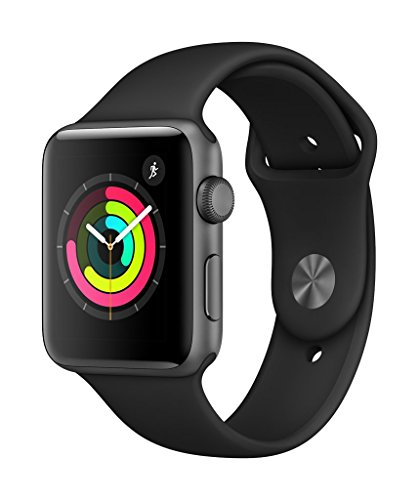Apple Watch Series 3 (GPS, 42mm) - Space Grey Aluminium Case with Black Sport Band