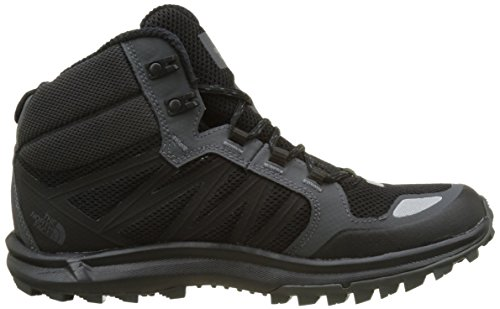 The North Face Herren Litewave Fastpack Mid Gore-Tex Trekking-& Wanderschuhe Mehrfarbig (Tnf Black/dark Shadow Grey)
