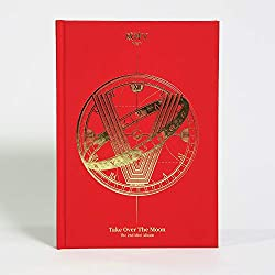 LABEL V WayV Take Over The Moon (2nd Mini Album) CD+124p Photobook+Photocard+Circle Card+Folded Poster+Double Side Extra Photocards Set