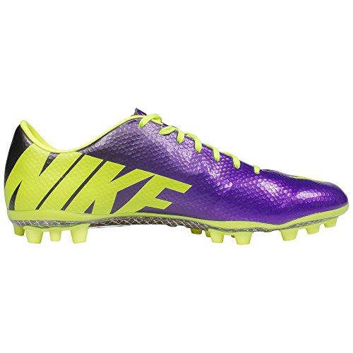 Mercurial Vapor Ix Ag Mens scarpe da calcio 555.606 morsetti di calcio artificiale Terra (uk 10 Us 1 electro purple volt black 570