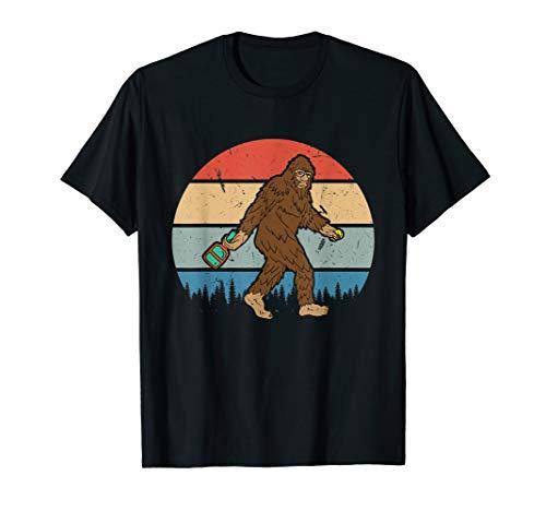 Lustige Bigfoot Pickleball Sasquatch Dink Spieler Trainer T-Shirt