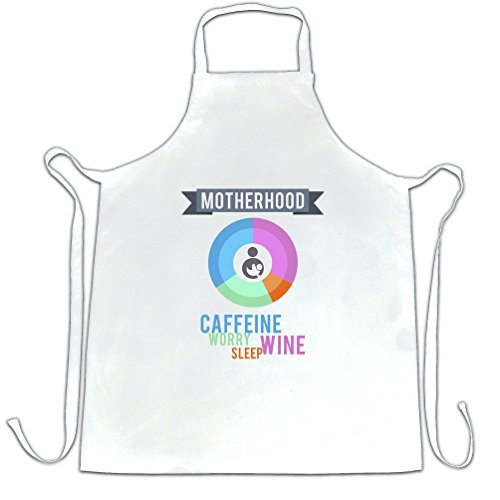 Mutterschaft Zutaten gedruckt Slogan Zitat Design Premium Scherze (Neuheit Mutterschaft Tees)