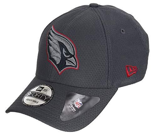 Cardinals Womens Hüte (New Era Arizona Cardinals 9forty Adjustable Cap NFL Hex Era Graphite - One-Size)
