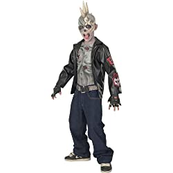 Child Punk Zombie Halloween Costume Medium 5-7 Years (disfraz)