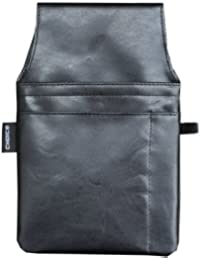 Kellner-Gürteltasche 1, schwarz, PVC