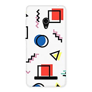 Neo World Geometric Shapes Back Case Cover for Zenfone 5