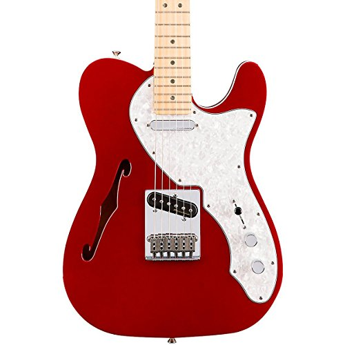 DELUXE TELECASTER THINLINE CANDY APPLE RED