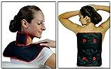 Wärmekissen Nackenkissen Schulterkissen Moorkissen Wärmetherapie (SET: Wärmekissen Maxi+Schulterkissen)