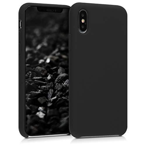 kwmobile Apple iPhone XS Hülle - Handyhülle für Apple iPhone XS - Handy Case in Schwarz