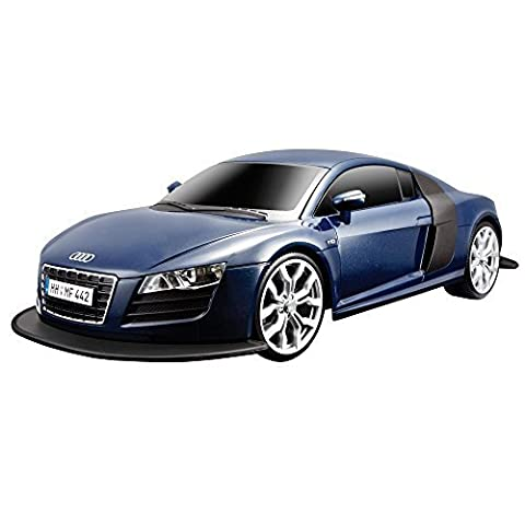 Maisto R/C 1:10 Scale Audi R8 V10 Radio Control Vehicle (Colors May Vary) by Maisto - Domestic