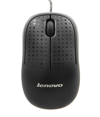 Lenovo M110 USB Optical Mouse  Black