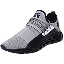 Logobeing Zapatos Hombre Deportivos Casuales Zapatillas Deporte Hombres Running Zapatillas de Tenis de Hombre para Adulto