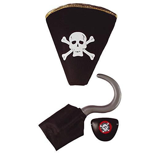 Widmann 2773H - Kostümset Pirat, 3-teilig (Halloween Duo Kostüme Ideen)
