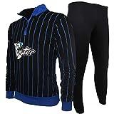 282b87ea4c PLANETEX Tuta Felpata Pigiama Uomo Inter Abbigliamento Ufficiale FC  Internazionale PS 28308-XXL-nero