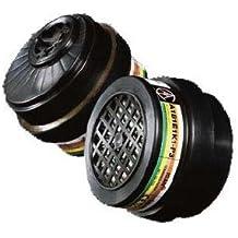 Filtro para máscara de gases buconasal, Respirador Profesional Polivalente A1-B1-E1-