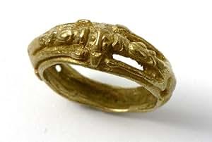 Reproduction Historique Bijoux Or 9carats–Bague anglo-viking–Unisexe