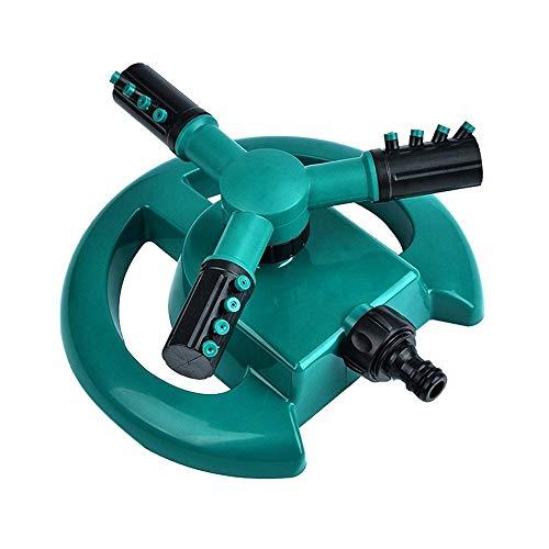 Garten Werkzeuge,Janly Rasensprinkler Garden Sprinkler Head Automatische Wassersprinkler 360 °Drehung Zubehör