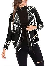 Amazon frange it e Giacche Nero cappotti Donna Abbigliamento rwrq1zBx