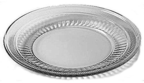 olis 20,3cm Glas Abendessen Teller Vintage Speisetellern Seite Teller Set 6Stück ()