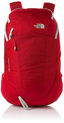 High-rise Taschen (THE NORTH FACE Kuhtai 34, Unisex-Erwachsene Rucksack, Rot (Rage Red/High Rise G), 22x24x45 cm (W x H L))