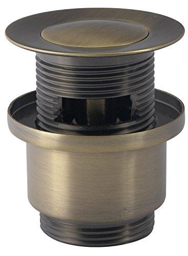 Ablaufgarnitur mit Klickverschluss / Pop up Ventil für den Waschtisch