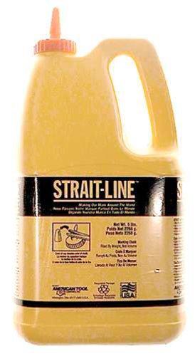 IRWIN Tools STRAIT-LINE 65104 Standard Marking Chalk, 5-pound, White (65104) by Irwin Tools - Irwin Strait-line Marking Chalk