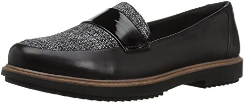 Clarks Wouomo Raisie Arlie Loafer, nero Leather Leather Leather Tweed Combi, 055 M US   Prezzo ottimale    Uomo/Donne Scarpa  e8bb69