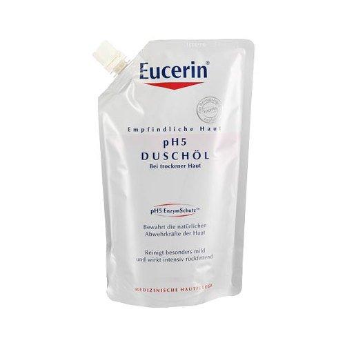 EUCERIN pH5 Creme Duschöl Nachfüllbeutel 400 ml Öl