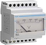 Hager SM100–Amperemeter Analog 0–100A Lesung Trafo SR100