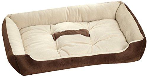 hundeinfo24.de Cat Sister -Süßigkeit-Farben-Platz Haustier-Hundekatze-Bett-weiche warme House (Klein, Pink)