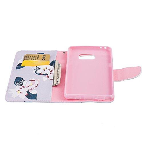 MOONBAY MALL Premium Housse en PU Cuir Portefeuille Etui Housse Flip Case pour Apple iPhone 5SE / iPhone SE / iPhone 5e avec fonction de support - Stylet & film de protection d'écran. BT-28 BT-05