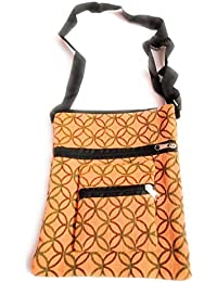Sling Bag, Pure Cotton Bag,Fully Metal Zip, Sling Bag One End Strap,very Easy To Handling
