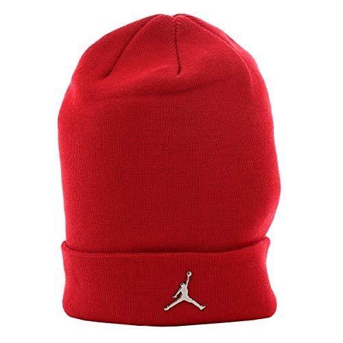 Nike Herren Mütze Jordan one Size Gym Red (Jordan Beanie-mütze)